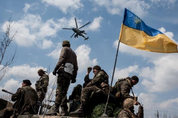 Война на Донбассе глазами украинского военного