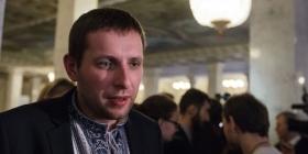 Депутату Парасюку побили автомобіль