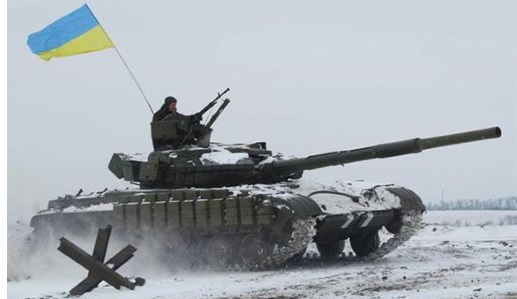 Украинские танки совершили прорыв под Горловкой и смешали с землёй российских артиллеристов