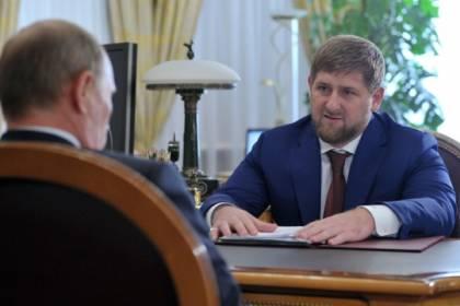 """Путин решил """"турнуть"""" Кадырова с поста главы Чечни"""