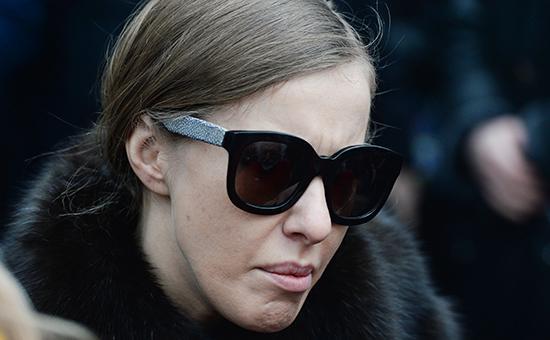 Ксения Собчак уехала из России «по рекомендации спецслужб»