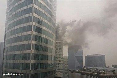 Пожежа у Парижі. ВІДЕО
