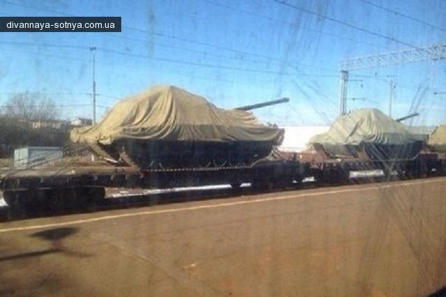 В сети появились первые фото новейших танков агрессора - Т-14 «Армата»