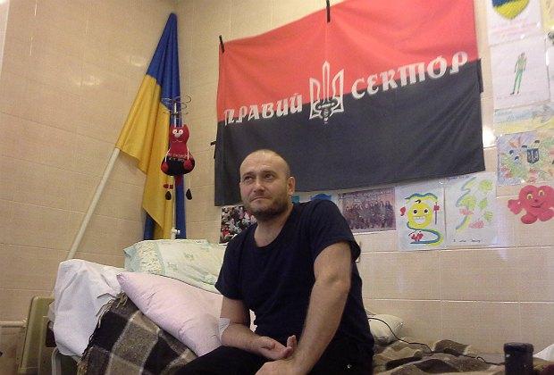 Дмитрий Ярош: власть боится Правого Сектора больше, чем сепаратистов