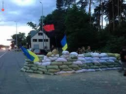 На фотографиях с блокпоста «Правого сектора» в Киеве замечен «активист по вызову»