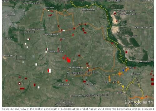 Bellingcat зафиксировал вторжение войск России в Украину