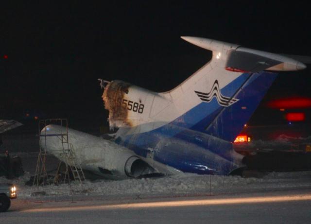 В аэропорту Пулково упал еще один рейс Когалымавиа