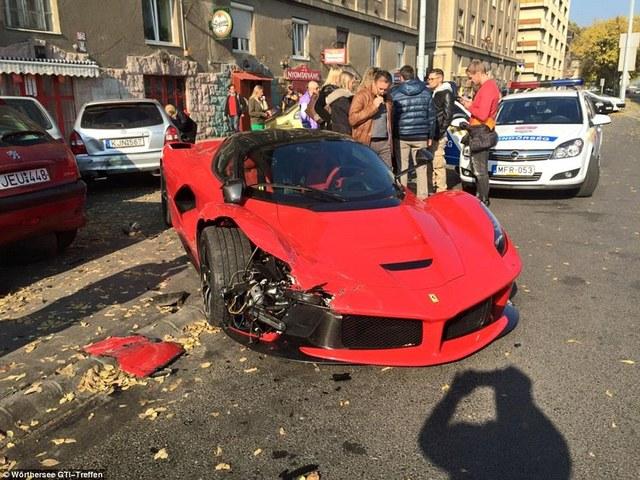 Житель Будапешта разбил LaFerrari стоимостью £1 млн спустя пару минут после покупки