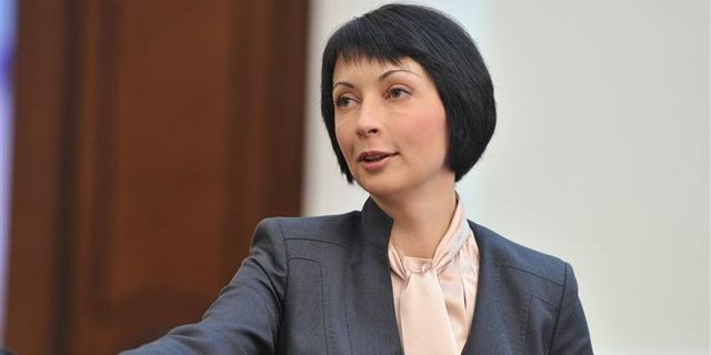 Елена Лукаш покинула ГПУ с электронным браслетом