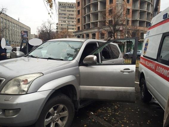 В Киеве произошло нападение со стрельбой