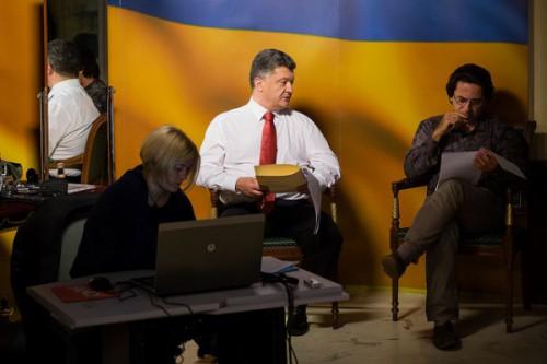 Фотограф Порошенко раскрыл секрет томных речей президента