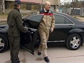 Лукашенко нарушил правила дорожного движения