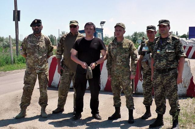Спецназовец рассказал, как Семенченко «учавствовал» в штурме Углегорска