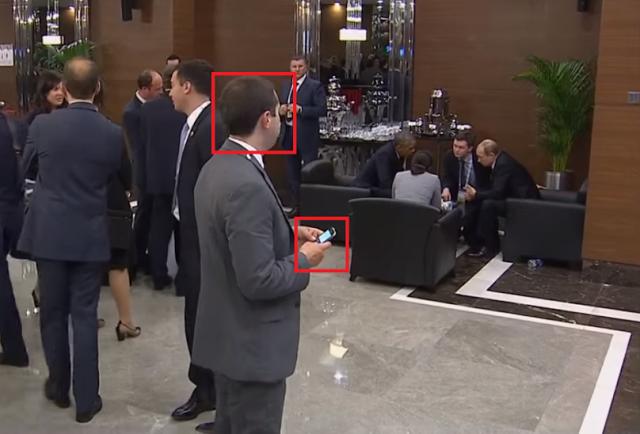 """Видео со """"шпионом"""" который следит за Путиным и Обамой на саммите G20 взорвало всю сеть"""