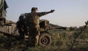"""Ожесточенный бой во время """"перемирия"""" под селом Жабуньки заснял офицер 93-й бригады"""