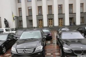 Неизвестные обстреляли автобазу Верховной Рады