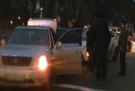 В Киеве неадекватный водитель сбил полицейского