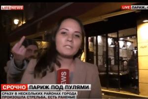 """""""Lifenews – пи*арасы"""": в Париже испортили прямой эфир кремлевскому каналу"""