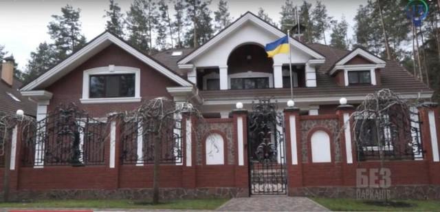 Из жизни майданных мерзавцев: Депутатская чета Луценко скрывала шикарный особняк под Киевом