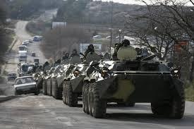Огромная колонна военной техники покинула Мариуполь