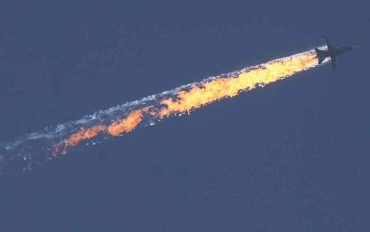 Турецкие военные опубликовали маршрут российского Су-24