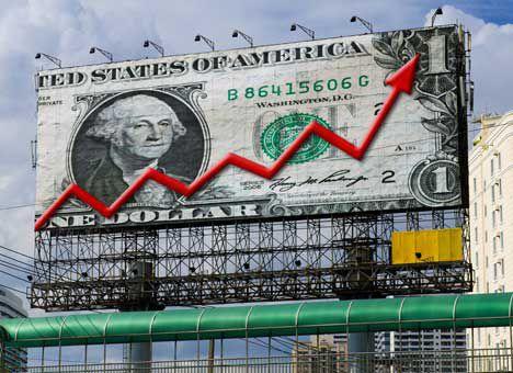 На «черном» рынке доллар идет на рекорд