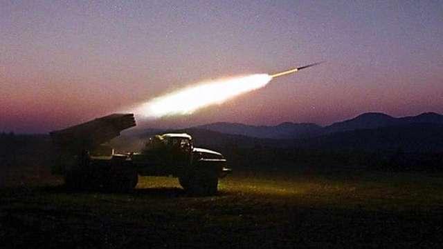 Российские наемники обстреляли Горловку «Градами»