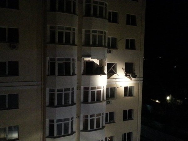 В Симферополе прогремел мощный взрыв: опубликованы фото и видео