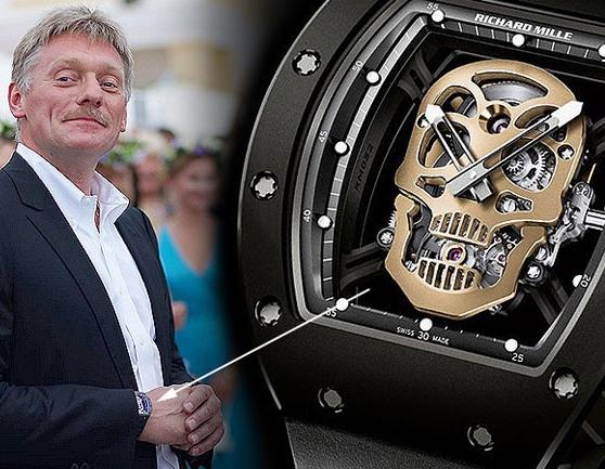 В России будут конфисковать швейцарские часы