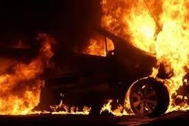 Под Одессой неизвестные сожгли машины двум депутатам от партии «Відродження»