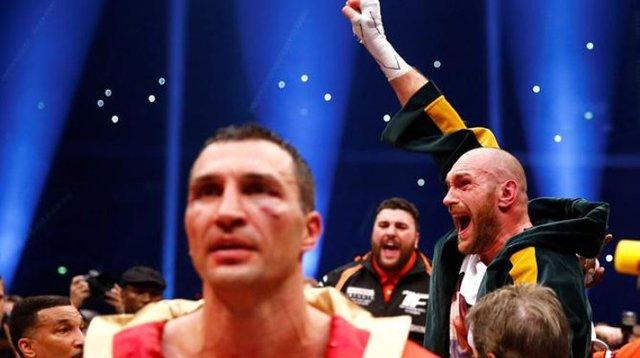 Фьюри сорвал джекпот на ставках после победы над Кличко