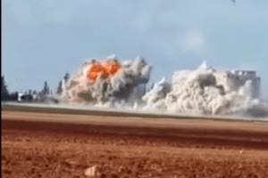 Российская авиация уничтожила турецкий хлебозавод, кормивший переселенцев