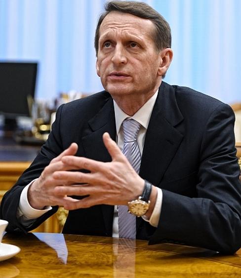 Нетрезвый взгляд Сергея Нарышкина