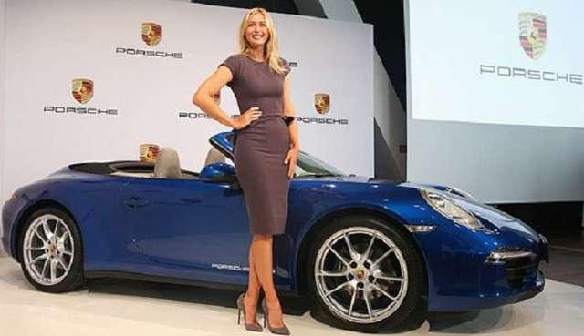 Автоконцерн Porsche заморозил сотрудничество с Шараповой