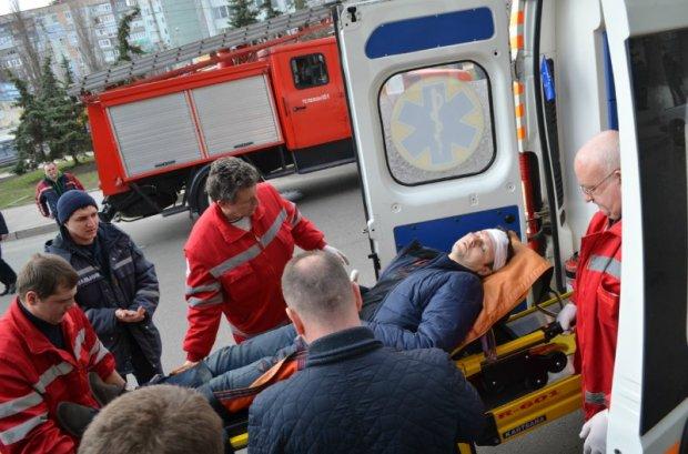 В центре Кировограда взорвали урну: один пострадавший
