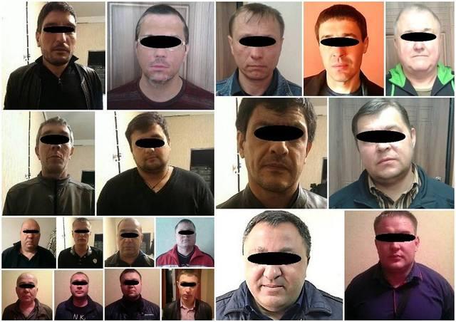 В Днепропетровске на «сходняке» задержаны 12 «воров в законе»