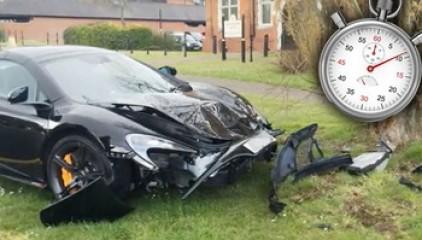 McLaren 650S разбили за считанные минуты после покупки