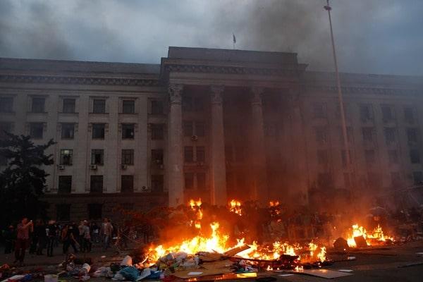 Неизвестные причины и подробности драматических событий в Одессе 2 мая 2014 года