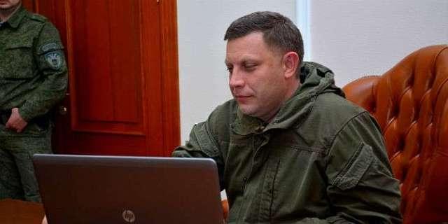 Захарченко объяснил ситуацию с подготовкой покушения на Порошенко