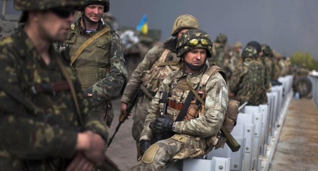 Сегодня ночью украинские военные превратили «бессмертный полк» террористов в смертный