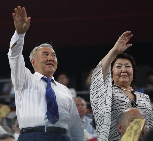Бриллианты и рубины женщин Назарбаева
