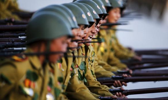 Армия КНДР изнутри: Опубликованы редкие фото сверхсекретной жизни военных