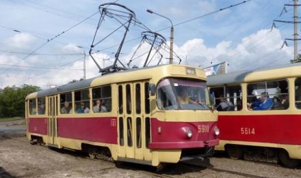 В столице совершено вооруженное ограбление трамвая