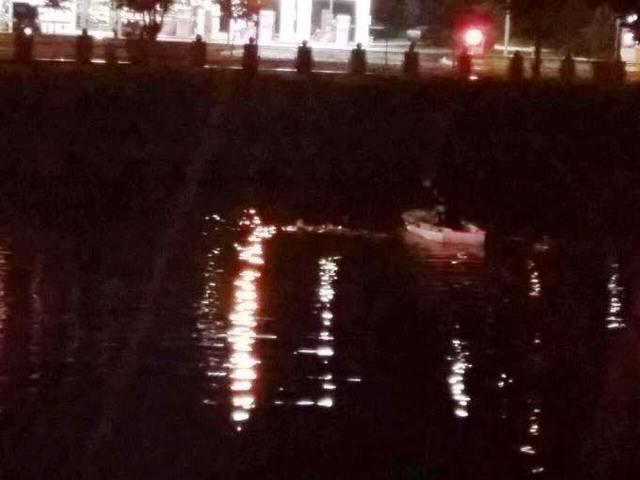 В Харькове мужчина пытался сбежать с места ДТП, прыгнув в реку