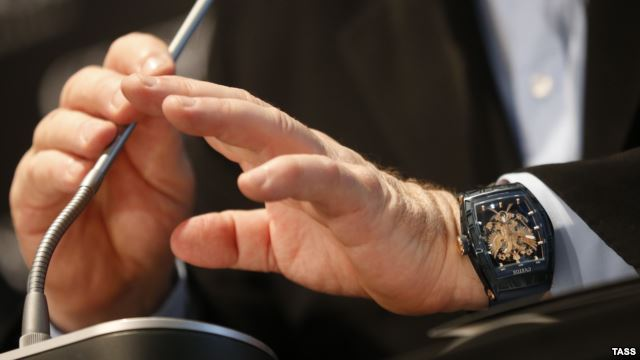 Павел Казарин: Ярмарка тщеславия. Зачем политики носят дорогие часы