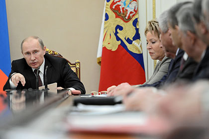 Путин срочно созвал совет безопасности