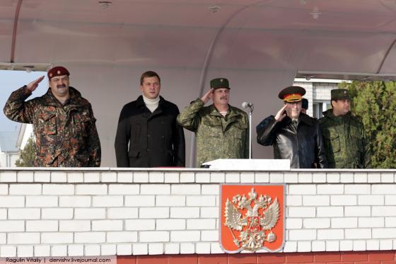 Создатель «Антимайдана» Дмитрий Саблин шефствует над бригадой, где служит убийца Немцова Заур Дадаев