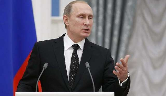 Путин заявил, что РФ не виновна в отсоединении Крыма и войне на Донбассе
