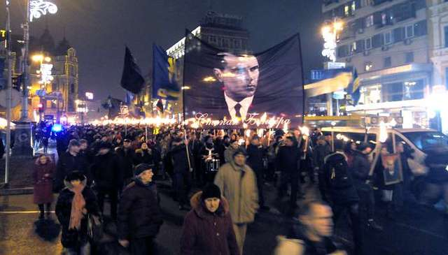 У Путина возмутились массовыми шествиями в честь Бандеры в Украине