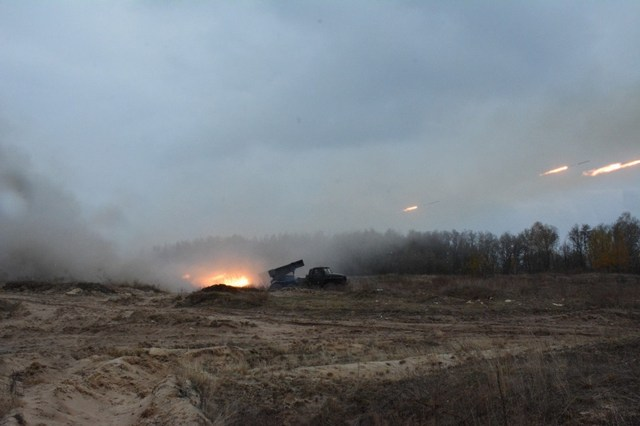Обострение в АТО: В ход пошли «Грады» боевиков